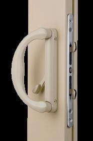 White cam lock